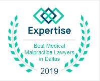 2019 Best Medical Malpractice Lawyers Award